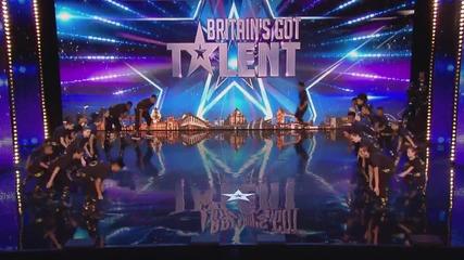 Тази група ще ви изуми с танците си! - Britain's Got Talent 2015