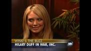 Abc News Now - Интервю с Хилари Дъф за филма War, Inc.