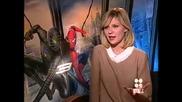 Звездата Кирстен Дънст дава интервю за филма си Спайдър - Мен 3 (2007)