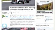 Nico Rosberg Has Dominant Victory in Austrian Grand Prix