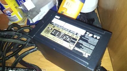 Това се казва зверска машина - Seasonic 660w захранва 3x7970