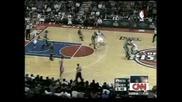 """Кевин Гарнет се контузи при загубата на """"Бостън"""" с 92:104 от """"Детройт"""""""