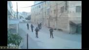 Танца на израелските войници в Хеброн
