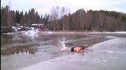 Норвежеца - по тънкия лед