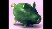 Животни Направени От Зеленчуци