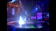 Dulce Maria пее Inevitable с участник в предаването ,, Аз наистина пея ''