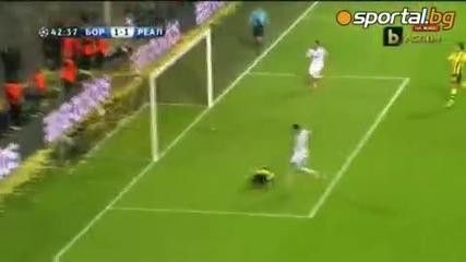 Левандовски прегази Реал Мадрид с цели четири гола [ Борусия Дортмунд срещу Реал Мадрид 4-1 ]