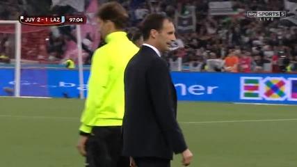 Купа на Италия - финал: Ювентус - Лацио 2:1 (след продължения)