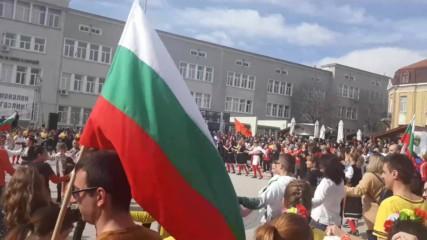 3 март 2020 г. Бургас. Празнично хоро (4)