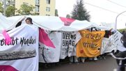 Germany: Leftists demonstrate against Unity day in Dresden