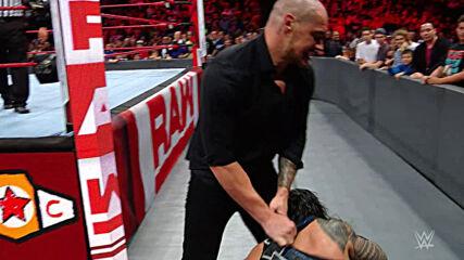 Roman Reigns vs. Baron Corbin – Universal Title Match: Raw, September 17, 2018 (Full Match)