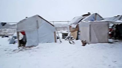Greece: Harsh winter conditions leave refugees fighting to stay warm
