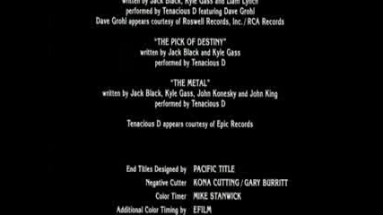 Tenacious D - The Pick Of Destiny #10 + Bonus