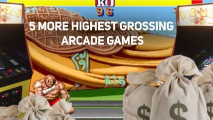 5 More Highest Grossing Arcade Games