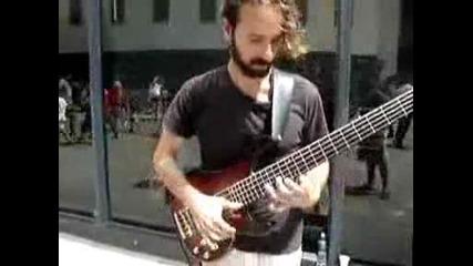 Amazing Bass Guitar Player.avi
