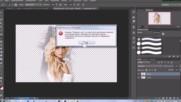 4__фотошоп__как вырезать объект переместить на другой фон и повернуть его__ 4 Урок