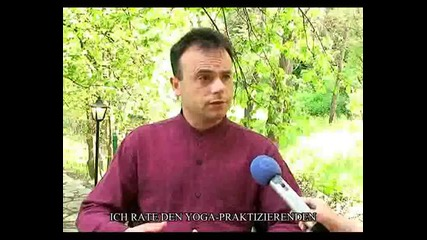 Fernseh-interview mit Kiril Stojanov