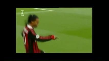 Ronaldinho (2009 - 2010) dribles e gols