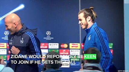 Cristiano Ronaldo reportedly recommends Zidane for Man United job