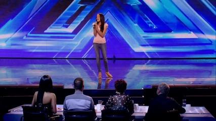 Н Е П О В Т О Р И М О ! Melanie Mccabe    Titanium X Factor 2013
