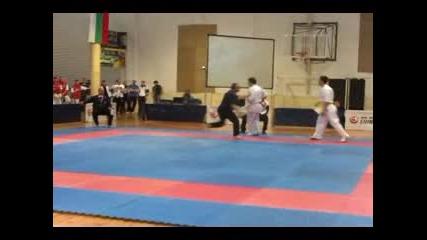 Георги Йорданов Юдсв Финал 24.03.2012 Киокушин карате