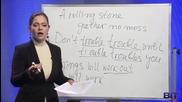 Аз уча английски език . Сезон 3 Епизод 108 идиоми на български