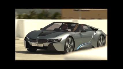 Удивителна кола! Bmw i8 Spyder Concept