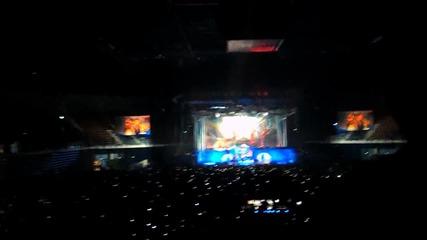 Iron Maiden Live Sofia 2014 The Trooper