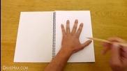 Как да правим 3d рисунки с помощта на малък трик