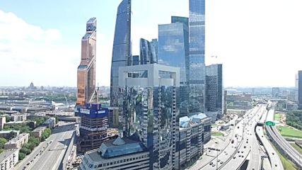 Москва-сити 4k
