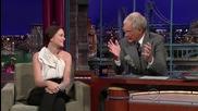 Leighton Meester on David Letterman _hd_ (09.11.09)