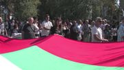 Bulgaria: Nationalists rally against refugee camp in Harmanli