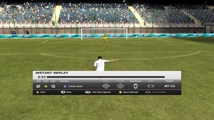 Fifa 12 - Хубав гол на Mesut Ozil