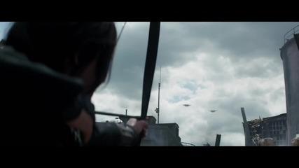 """Официалния трейлър Игрите на глада /the Hunger Games- Mockingjay Trailer – """"the Mockingjay Lives"""""""