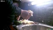 Жена ми каза да обеля картофите