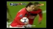 03.10.09 Манчестър Юнайтед - Съндърланд 1:2 гол на Бербо