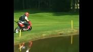 Rok Bagoros - Freeriding the golf course