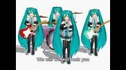 We Will Rock You - Miku Hatsune