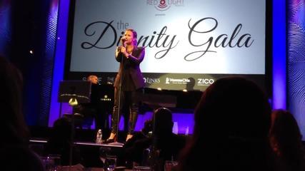 Удивителен глас! Demi Lovato - Warrior ( За Първи Път На Живо )