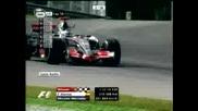 F1 2007 Mclaren Start At Sepang