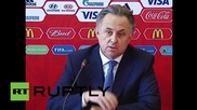 "Russia: We are ""calmly"" continuing preparations for FIFA World Cup 2018 - Mutko"