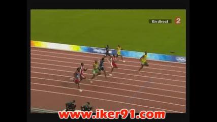 Юсейн Болт с световен рекорд и Олимпийско злато