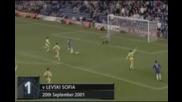 Първият гол на Лампард за Челси срещу Левски