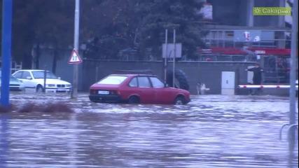 Водна стихия разруши мост край с. Иваново