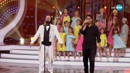 """Благовест и Светослав Аргирови като Enrique Iglesias & Luciano Pavarotti - """"Cielito Lindo"""""""