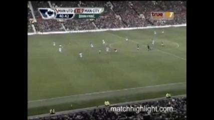 Манчестър Юнайтед - Манчестър Сити 1:0 [ 12.2.11 ]