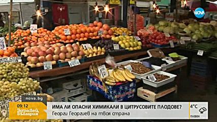 Има ли опасни химикали в цитрусовите плодове?