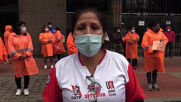 Peru: Public cleaners demand labour rights at Lima rally