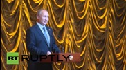 Russia: Putin hosts reception for BRICS and SCO leaders