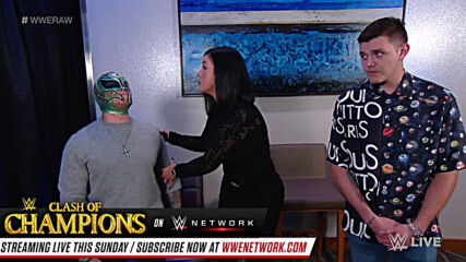 Aalyah Mysterio lashes out at her father: Raw, Sept. 21, 2020